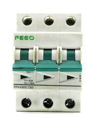 DC Breaker 63Amp,750volt DC(3Pole)