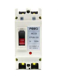 DC Breaker 100Amp,500Volt DC(2Pole,MCCB)