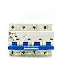 DC Breaker 80Amp,1000Volt DC(4Pole,MCB)