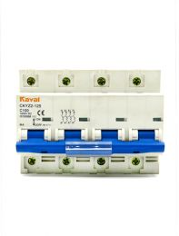 DC Breaker 100Amp,1000Volt DC(4Pole,MCB)