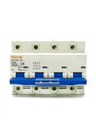 DC Breaker 125Amp,1000Volt DC(4Pole,MCB.)